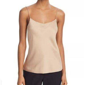 Theory Teah Silk-Stretch Camisole Top